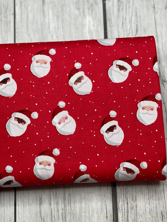 Holly Holiday, Santas Red, C10881-RED, By Christopher Thompson, for Riley Blake, sold by the 1/2 yard or the yard