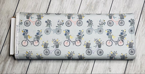 Summer in the Cotswolds - Evening Ride - Fern Metallic Fabric- JM200-FE3M- By RJR- sold by the 1/2 yard or the yard