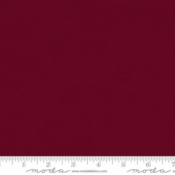 Bella Solids 2020 Sangria, 9900 410 Moda, sold by the 1/2 yard or the yard