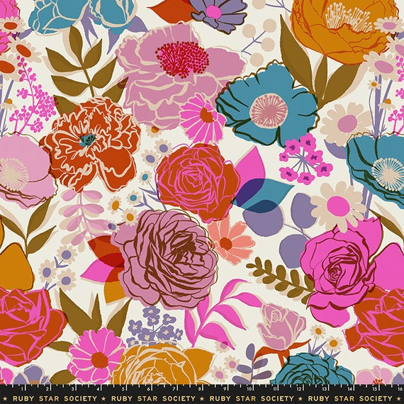 """Rise 108"""" Wideback Shell RS11165 11 by Melody Miller- Ruby Star Society-Moda- sold by the 1 Yard"""