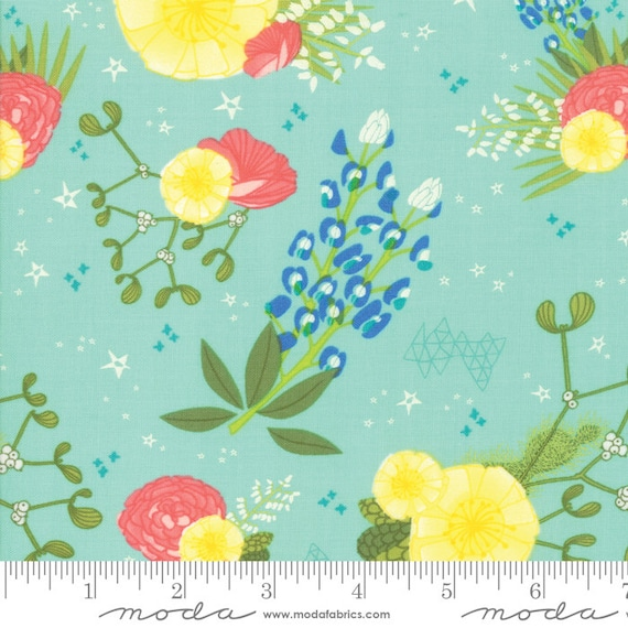 Desert Song, Oasis,Desert Flowers, By Mara Penny, 13300 21 Moda, sold by the 1/2 yard or the yard