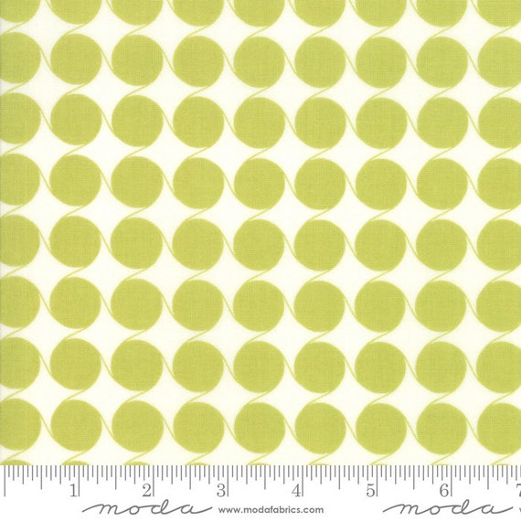 Fine and Sunny Pistachio, 18175 16 Moda, By Jen Kingwell for Moda, sold by the 1/2 yard or the yard