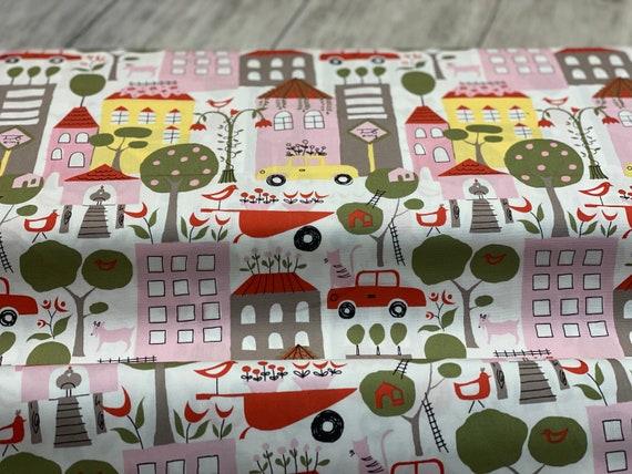 Urban Garden Petal Poplin, Organic POPLIN Fabric, by Monaluna