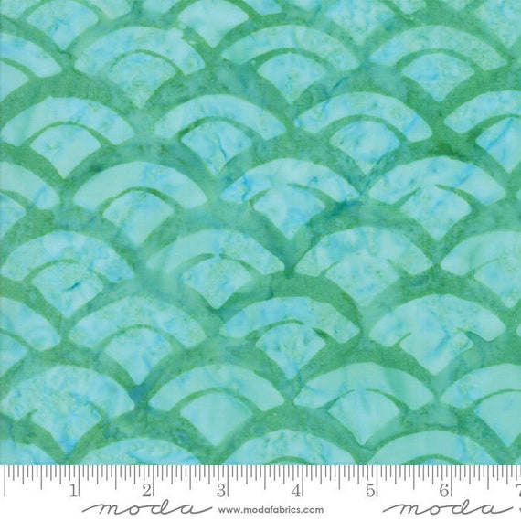 Sunday Drive Pond, by Pat Sloan for Moda Batiks, sold by the 1/2 Yard - Cut Continuously