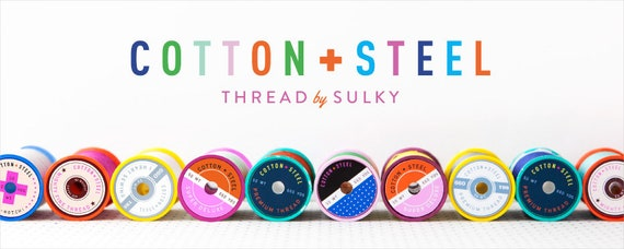 Sulky Thread, 50 weight cotton, By Cotton + Steel