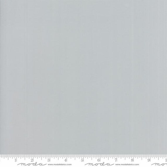 Bella Silky Zen Grey, 9900 185S Moda, sold by the 1/2 yard or the yard
