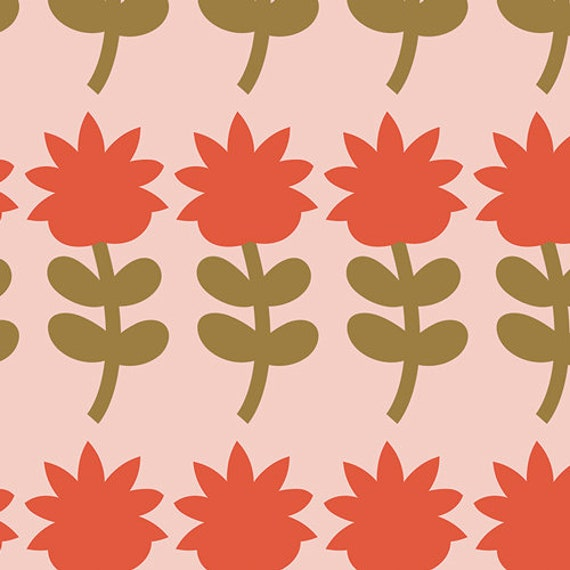 Dutch Bloom Summer, From Blush, By Dana Willards, for Art Gallery Fabrics, sold by the 1/2 yard or the yard