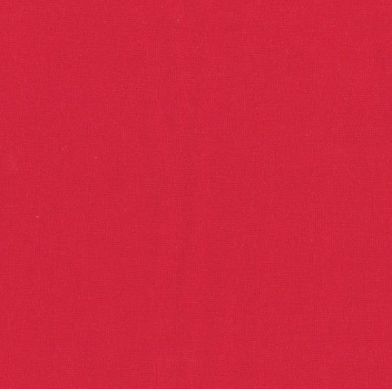 Bella Solids Scarlet 9900 47 Moda, sold by the 1/2 Yard - Cut Continuously