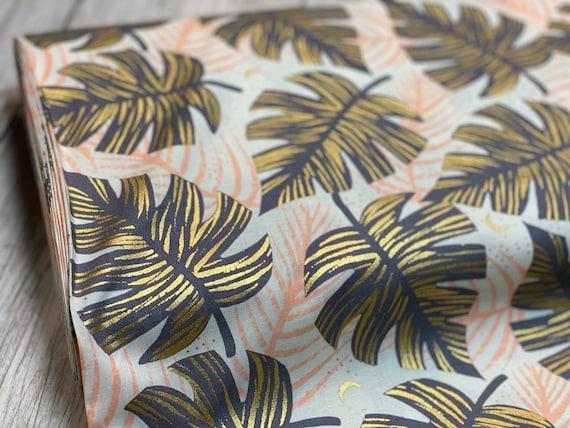 Florida Shade Palms, Slate Gray, By Sarah Watts, RS2024 13M Ruby Star, Moda Fabrics, sold by the 1/2 yard or the yard