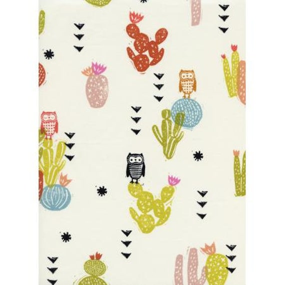 A4058-011 Sienna - Desert Bloom - Poppy Lawn Fabric- Cotton and Steel- RJR- Sold by the 1/2 yard or the yard
