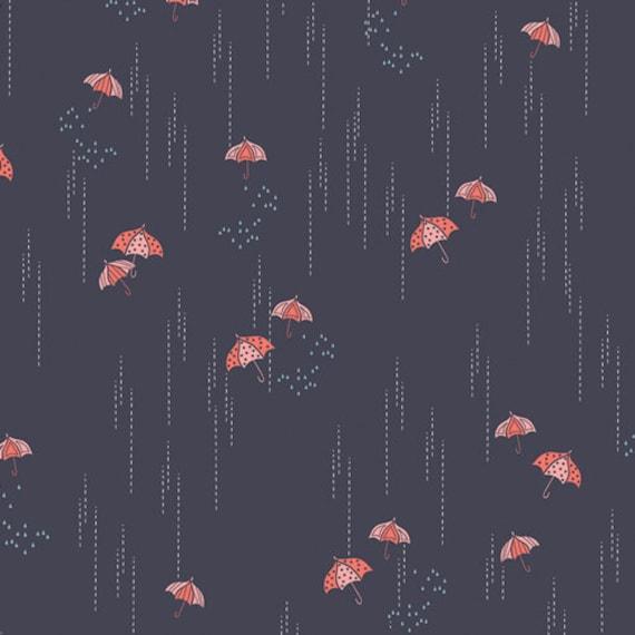 Rainbrella Shadow, From Charleston, by Amy Sinibaldi, for Art Gallery Fabrics, sold by the 1/2 yard or the yard