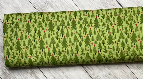 Hustle And Bustle, Trees in Pear, 30662 17 Moda, By Basic Grey, sold by the 1/2 yard or the yard