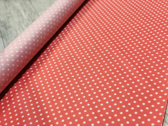 Bloomington,  COATED/LAMINATED fabric, in Rose, By Lella Boutique, 5114 14C Moda, sold by the 1/2 yard or the yard