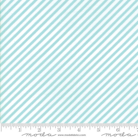 Vintage Holiday Aqua, By Bonnie and Camille for Moda, 55168 22F Moda Flannel, sold by the 1/2 yard or the yard