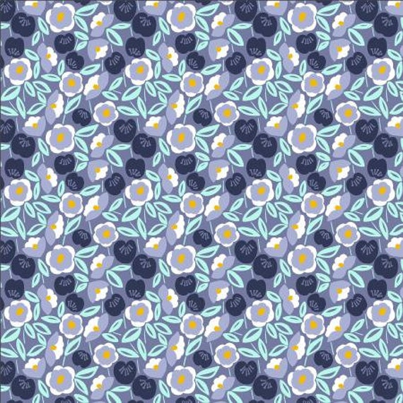 Glory - Joani - Cherry Fabric- MC202-SH1- Cotton + Steel- Sold by the 1/2 yard or the yard
