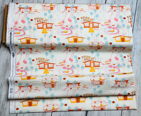 Hello Summer Hot, Sunburst Collection, designed by AGF Studio, Sold by the 1/2 yard or the yard