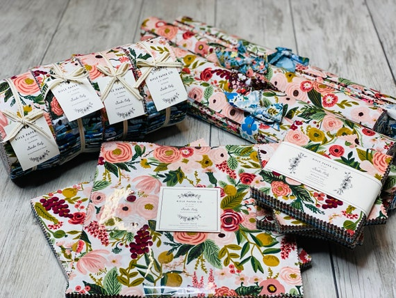 Garden Party Precuts, by Rifle Paper Co, For Cotton and Steel
