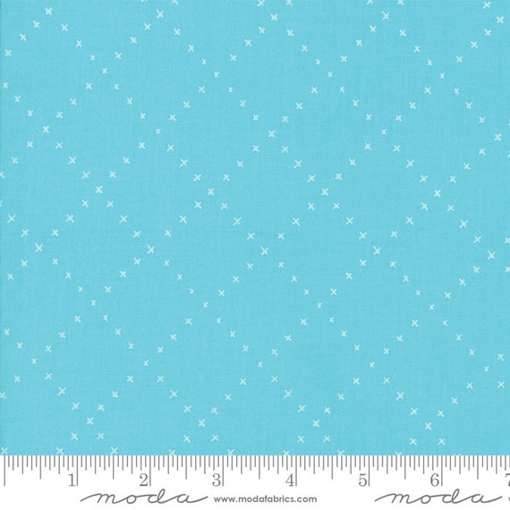 Farm Charm Pond, By Gingiber for Moda Fabric, sold by the 1/2 Yard - Cut Continuously