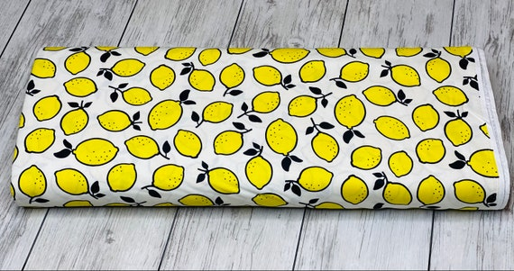 Squeeze | Figo | Lemons | 100% cotton | 90295-50 | quilting | Dana Willard | sold by the 1/2 yard or the yard