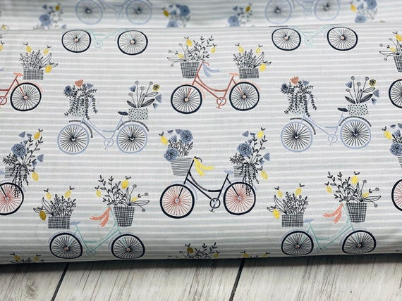 Summer in the Cotswolds - Evening Ride - English Hyacinth Metallic Fabric- JM200-EH2M- By RJR- sold by the 1/2 yard or the yard