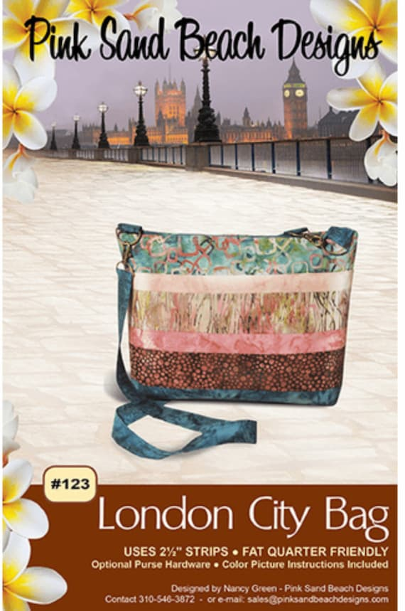 London City Bag #123, Pattern by Pink Sands