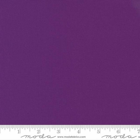 Bella Solids Iris, 9900 302 Moda, Sold by the 1/2 yard or the yard