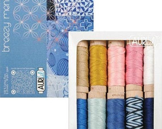 Breezy Mending Small Aurifloss Thread Box Zen Chic #BH30BM10