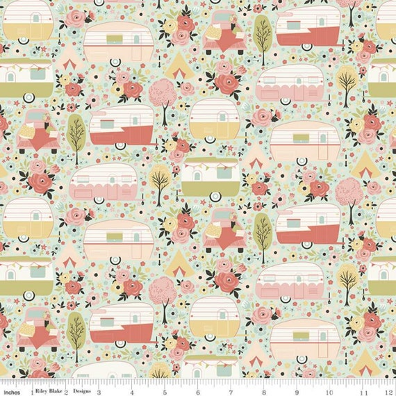 Joy In The Journey Main Mint, C10680-Mint, By Dani Mogstad, for Riley Blake, sold by the 1/2 yard or the yard