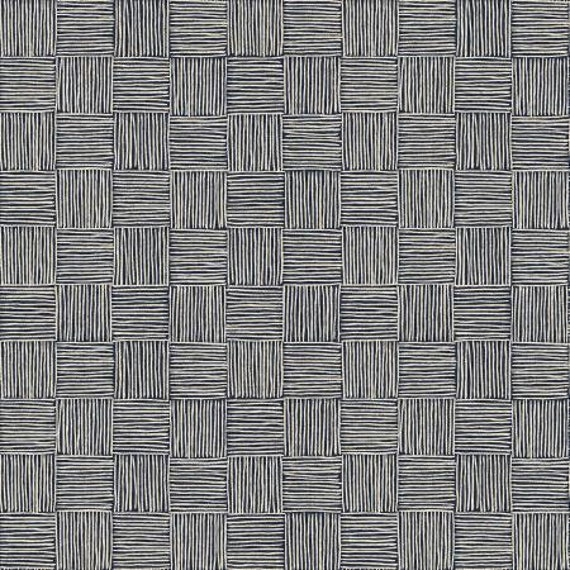 LV305-TW6C Along the Fields - Haystack - Twilight Canvas Fabric- Loes van Oosten- Cotton and Steel/RJR- sold by the 1/2 yard or the yard