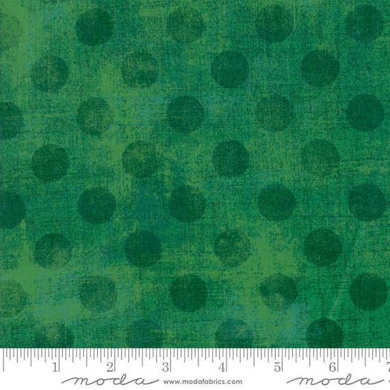 Grunge Hits The Spot New Kelly 30149 62 Moda Basic, sold by the 1/2 Yard - Cut Continuously