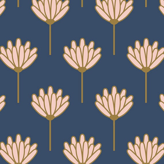 Floret Sunkissed, From Blush, By Dana Willards, for Art Gallery Fabrics, sold by the 1/2 yard or the yard
