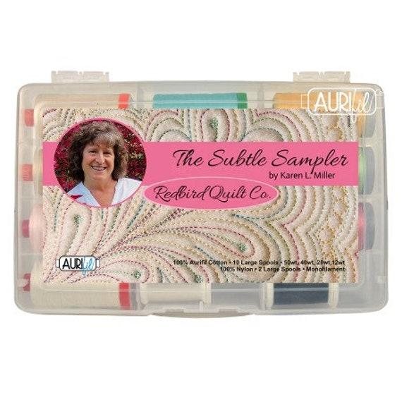 Aurifil-THE SUBTLE SAMPLER by Karen Miller