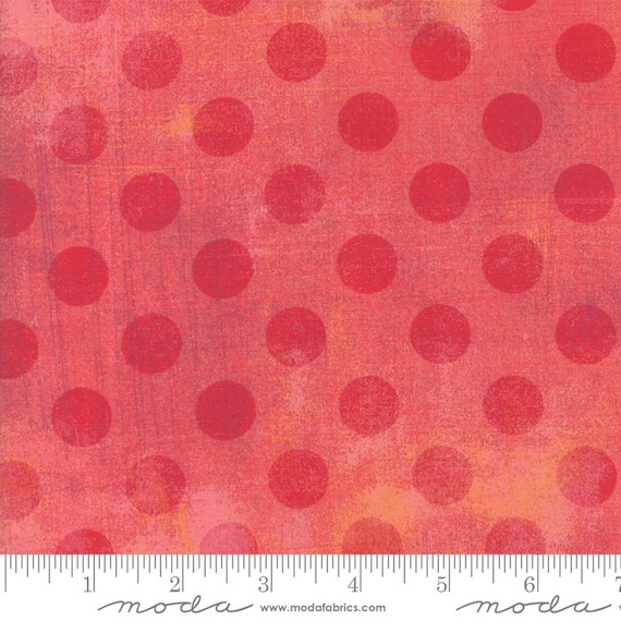 Grunge Hits The Spot New Salmon 30149 47 Moda Basic, sold by the 1/2 Yard - Cut Continuously