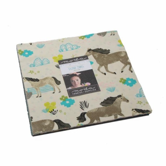 """Moda Desert Song Layer Cake 13300lc - 42 10""""x10"""" Quilt Squares by Mara Penny- Precuts-"""