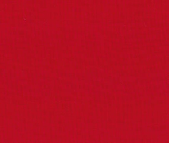 Bella Solids Christmas Red 9900 16 Moda, sold by the 1/2 Yard - Cut Continuously