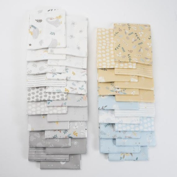 Little Ducklings Precut Bundles, By Paper and Cloth, for Moda