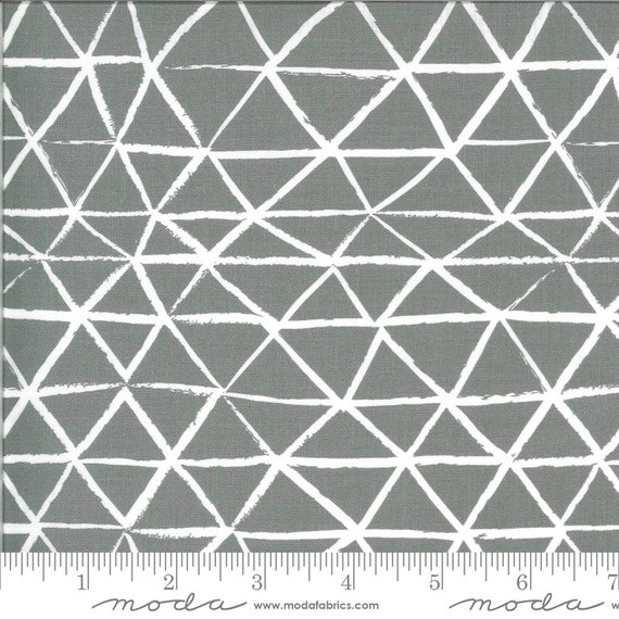 Zoology Grey, 48303 17 Moda, By Gingiber- sold by the 1/2 yard or the yard