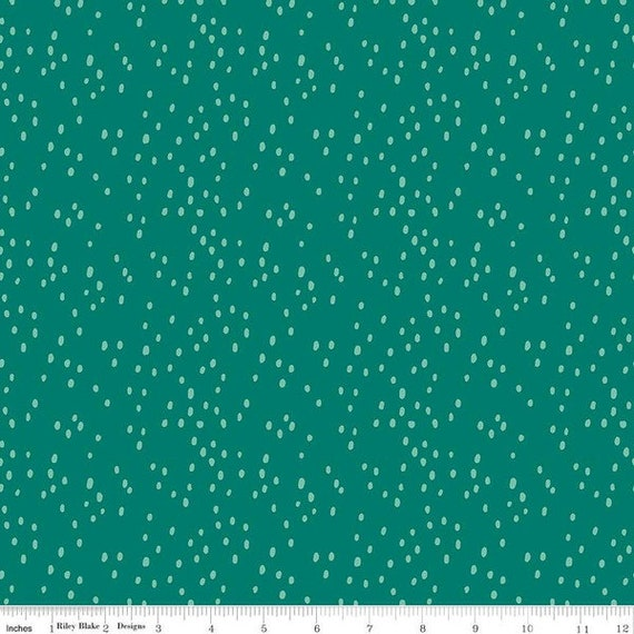 Midsummer Meadow, Jade Dappled, Yardage, by Katherine Lenius, for Riley Blake Designs, sold by the 1/2 yard or the yard