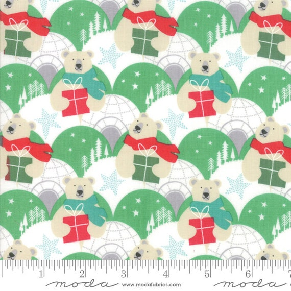 Aurora Tundra Pine, 27301 16, By Kate Spain, for Moda, Sold by the 1/2 yard or the yard