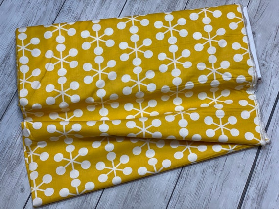 Quotation Mustard, By Zen Chic, 1731 19 Moda, sold by the 1/2 yard or the yard