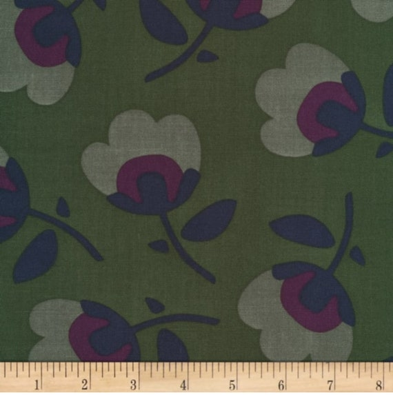 Cloud9 Fabrics, Business Class, RAYON, Senator Green, Sold by the 1/2 yard or the yard