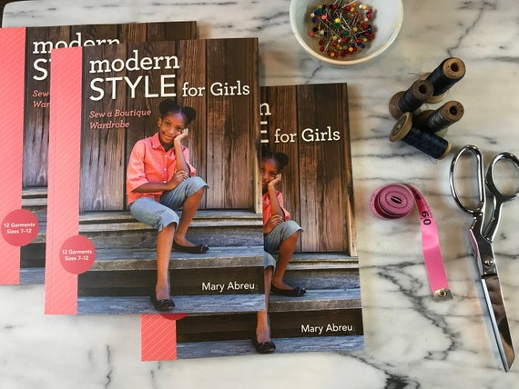 Modern Style for Girls: Sew a Boutique Wardrobe Book