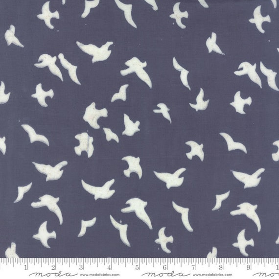 Whispers Double Gauze Dusk-4340 26- Moda Batiks-Sold by the half-yard or the yard cut continuous
