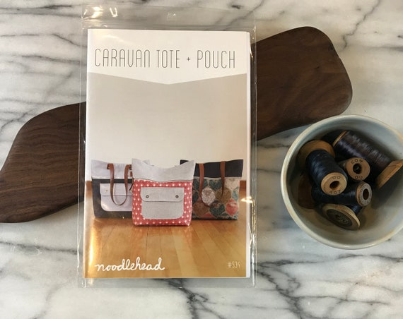 Caravan Tote & Pouch Pattern By Noodlehead