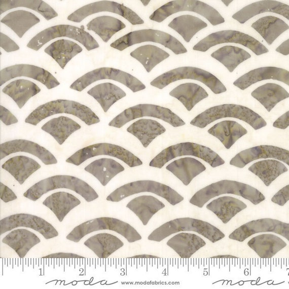 Batik Cotton Fabric Sunday Drive in Cobblestone, by Pat Sloan for Moda Fabrics, sold by the 1/2 Yard - Cut Continuously