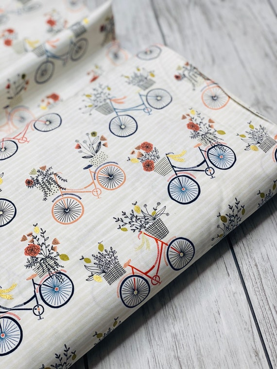 Summer in the Cotswolds - Evening Ride - Paradise Metallic Fabric- JM200-PA1M- By RJR- sold by the 1/2 yard or the yard