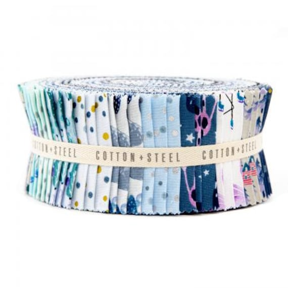 Chill Out, 2.5 inch strips, by Cotton and Steel, Precuts