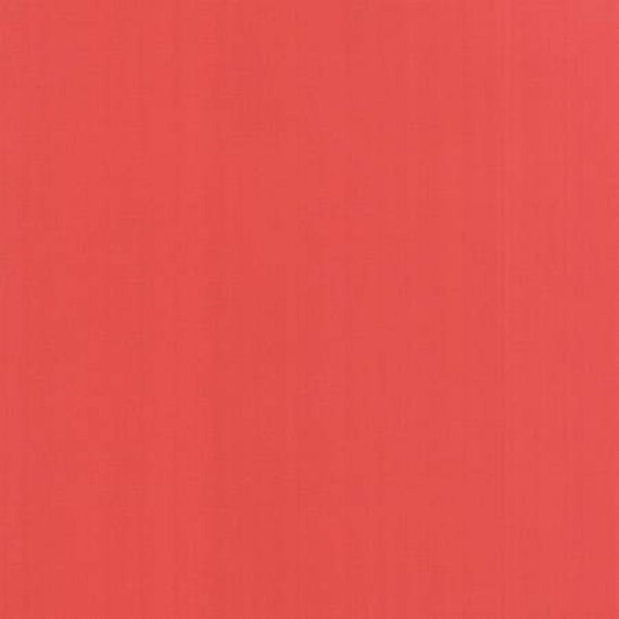 Bella Solids Persimmon 9900 294 Moda, sold by the 1/2 Yard - Cut Continuously