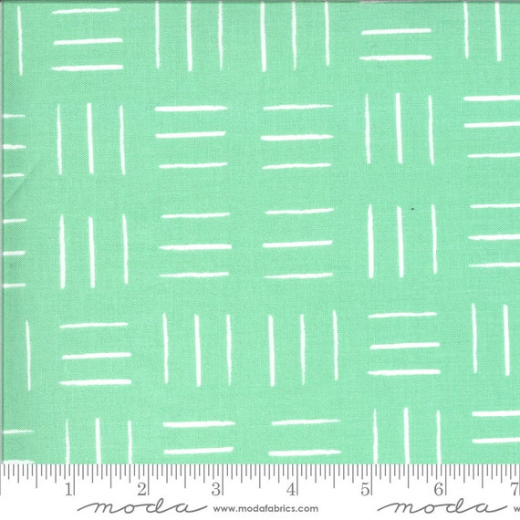 Zoology Aqua, By Gingiber, 48304 15 Moda, sold by the 1/2 yard or the yard