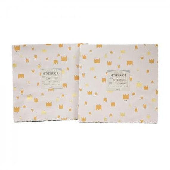 Dear Friends 10X10 Pack- Cotton and Steel- RJR- Precuts-AE100P-10X10